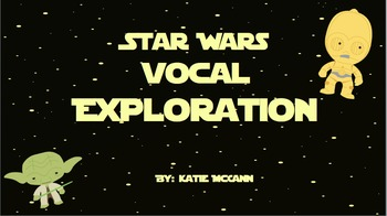 """Vocal Explorations-Inspired by """"Star Wars"""""""