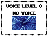 Star Wars Voice Levels