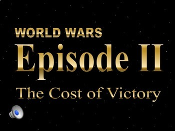 Star Wars WWII The Atom Bomb & VJ Day PowerPoint & Notes Bundle