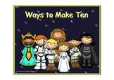 Star Wars Ways to Make 10 Task Cards