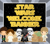 Star Wars Welcome Banner - Back to School Posters