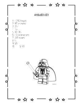 Star Wars Word Problems- Lego Addition