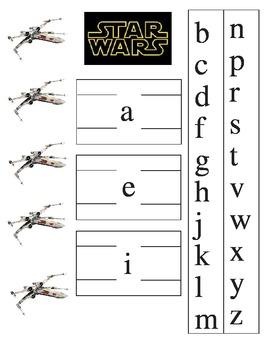 Star Wars Word Slider
