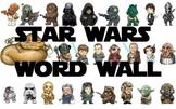 Star Wars Word Walls Pack
