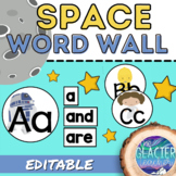 Star Wars Word Wall Fry Word List and EDITABLE