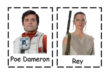 Star Wars Write the room