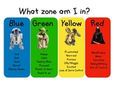 Star Wars Zones of Regulation Visual