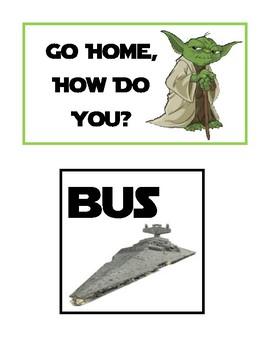 "Star Wars Go Home, How Do You?"""