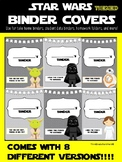 Star Wars inspired Binder Covers