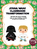 Star Wars Classroom Transformation-Writing Test Review