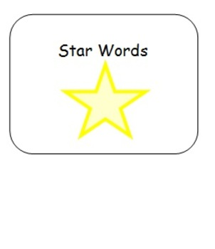 Star Words Adapted Spelling Book 2 for Students with Special Needs