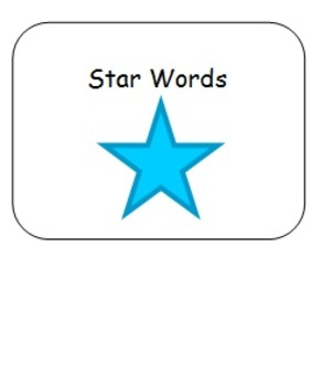 Star Words Adapted Spelling Book for Students with Special Needs