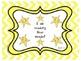 Star Words List 20 Sight Words