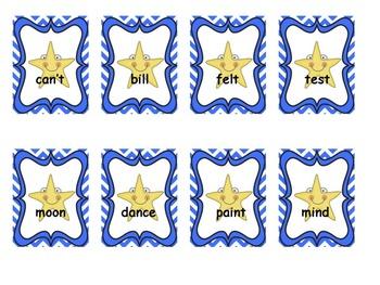 Star Words Lists 21-40 Sight Words Bundled