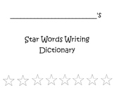 Star Words Writing Dictionary
