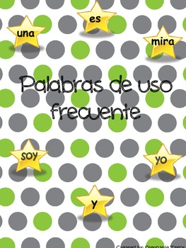 Star Words/Palabras de uso frecuente/High Frequency words