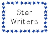 Star Writers Display Cards