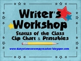 Star Writer's Workshop Clip Chart and Printables