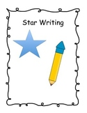 Star Writing Templates with Rubric