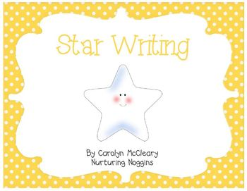 Star Writing (includes circle and tree maps)