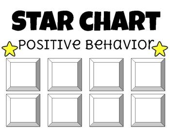 Star behavior chart