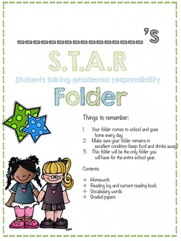 Star binder and folder covers