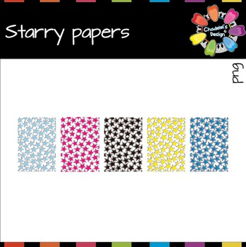 Starry Papers Freebie