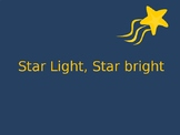 Star light, Star Bright (teaching quarter and eighth notes)