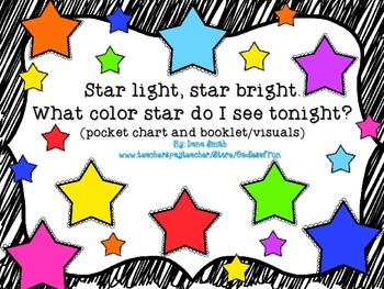 Star light, star bright.  What color star do I see tonight?