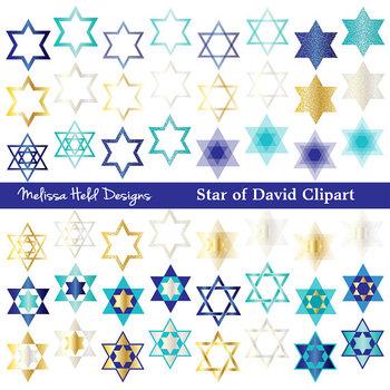 Star of David Clipart