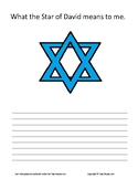 Star of David..What the Star of David Means to Me Writing Assignment