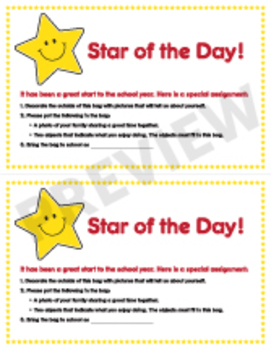 Star of the Day