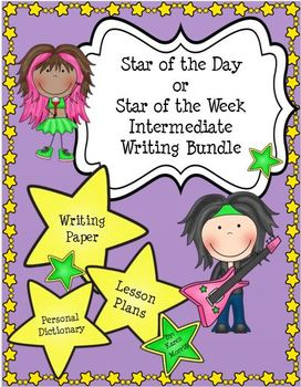 Star of the Day Bundle for 3-5: Star of the Day Plans, Cer