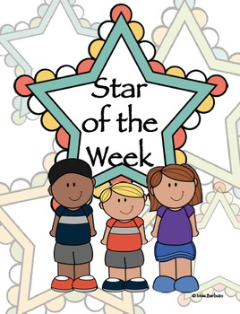 Star of the Week (Schedule, All About Me, Booklets & MORE)