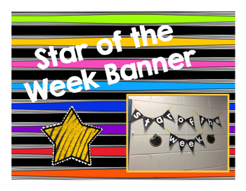 Star of the Week Banner