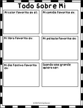 Star of the Week Bilingual Packet