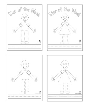 Star of the Week Book Pages