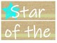 Star of the Week: Building Character While Integrating Writing Standards