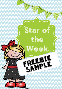 Star of the Week Certificate FREEBIE