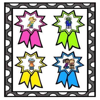 Star of the Week/End of the Year Awards -Citizenship Qualities