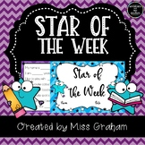 Star of the Week Class Writing Activity Book