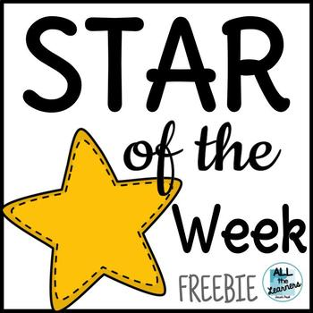 Star of the Week {Community Building}