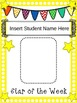 Star of the Week {Editable Class Book}