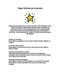 Star of the Week (English and Spanish)