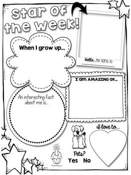 Star of the Week Kit FREEBIE!