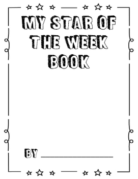 Star of the Week Letters