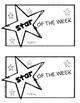 Star of the Week Mini-Book