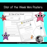Star of the Week Mini Posters   Student of the Week   All About Me