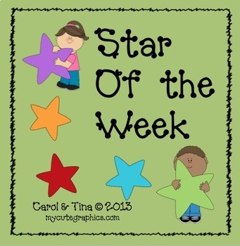 """Build A Positive Classroom Climate with a """"Star of the Week"""""""