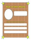 Star of the Week Poster and Nomination Forms